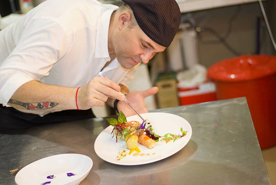 Abacus restaurant French chef in Siem Reap - Yann Poillot