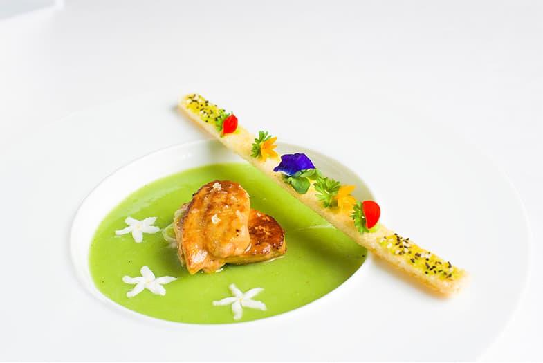 Green Pea Soup